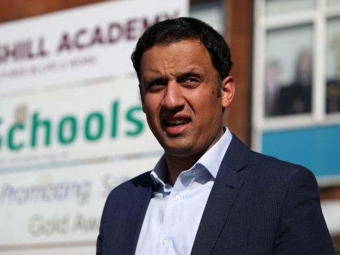 Scottish Labour leader Anas Sarwar unveiled his party's plan on Thursday (Andrew Milligan/PA)