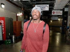Phillip Adams arrives for an NFL football game (Mark Zaleski/AP)