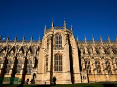 The funeral will take place at St George's Chapel, Windsor Castle (PA)