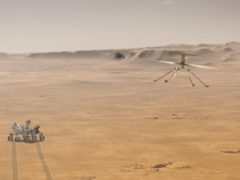 Nasa's Ingenuity makes history with first controlled flight on Mars (NASA/JPL-Caltech/PA)