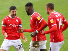 Barnsley triumphed 2-0 over Middlesbrough (Isaac Parkin/PA)