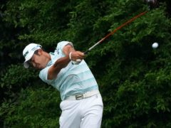 Hideki Matsuyama takes a four-shot lead into the final round of the 85th Masters (Charlie Riedel/AP)