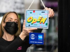 Retail sales increased ahead of planned reopenings as shoppers bought more clothes, according to the ONS (David Parry/PA)
