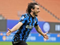 Matteo Darmian scored the only goal for Inter Milan against Cagliari (Luca Bruno/AP)