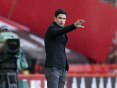 Mikel Arteta faces a season defining match with Arsenal away to Slavia Prague in the Europa League on Thursday (Tim Keeton/PA)