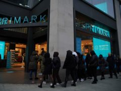 Primark saw strong sales of fashion items as customers bought clothes for going out (Aaron Chown / PA)