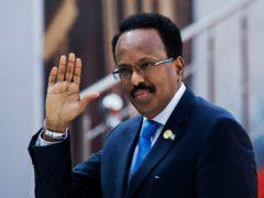 Somalian president Mohamed Abdullahi Mohamed (AP)