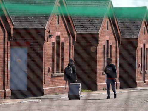 Napier Barracks in Folkestone, Kent (Gareth Fuller/PA)
