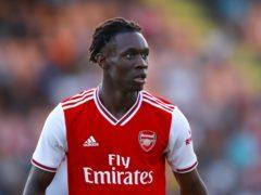 Folarin Balogun has signed a new contract at Arsenal. (Tim Goode/PA)