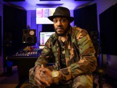 Rapper Mystikal in Baton Rouge, Louisiana earlier this year (Rusty Costanza/AP)