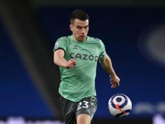 Everton captain Seamus Coleman's contract at Goodison Park runs until the end of the 2021/22 season (Glyn Kirk/PA).