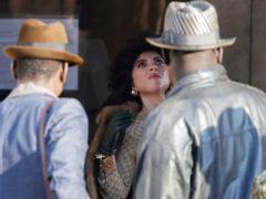 Lady Gaga plays Maurizio Gucci's former wife Patrizia Reggiani (AP)