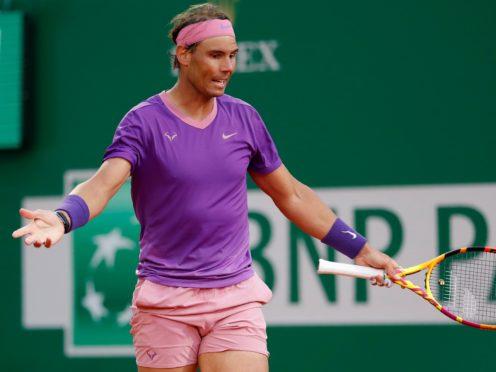 Rafael Nadal had a rare off day in Monte-Carlo (Jean-Francois Badias/AP)