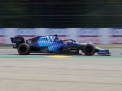 George Russell was unhappy with Valtteri Bottas after the two crashed at Imola (Luca Bruno/AP)