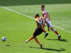 Josh Magennis scores for Hull (Mike Egerton/PA)