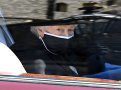 The Queen arrived by car (Leon Neal/PA)