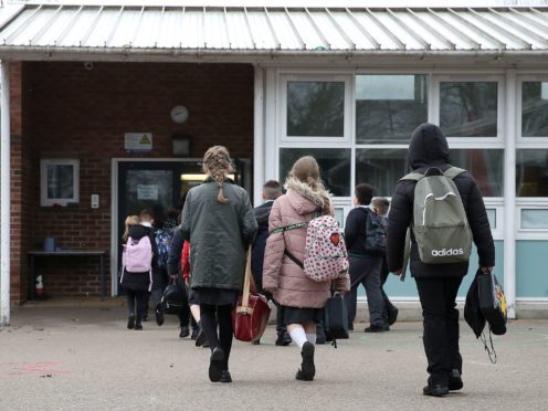 A multi-year education recovery package of up to £15 billion is required in England to ensure children catch up on missed learning, a report suggests (Martin Rickett/PA)