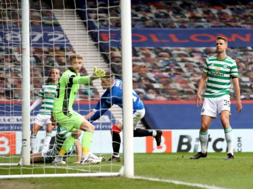 Celtic will be without a trophy this season for the first time since 2010 (Jane Barlow/PA)