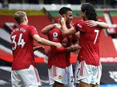 Manchester United beat Burnley (Gareth Copley/PA)
