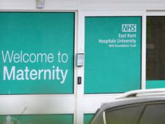 Representatives for East Kent Hospitals University NHS Foundation Trust were in court on Monday (PA)