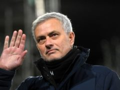 Jose Mourinho has won many trophies during his managerial career but could not deliver one during his 17-month reign at Tottenham (Neil Hall/PA Images).