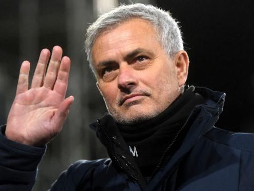 Jose Mourinho was sacked less than a week before the Carabao Cup final (Neil Hall/PA)