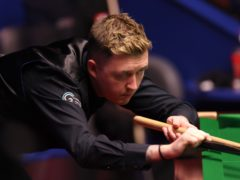 Kyren Wilson was runner-up to Ronnie O'Sullivan in the delayed 2020 tournament (George Wood/PA)