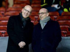 Manchester United joint chairmen Joel Glazer (right) and Avram Glazer (Martin Rickett/PA)