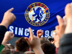 Fans react after potential news that Chelsea are preparing to withdraw from the Super League (Ian West/PA)