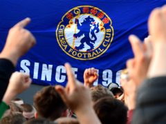Fans celebrated after hearing Chelsea are preparing to withdraw from the Super League (Ian West/PA)