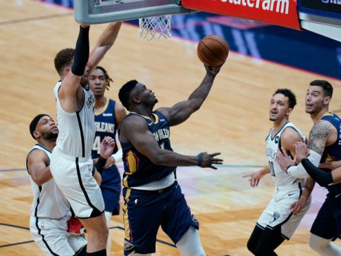 Zion Williamson's late error was costly for the New Orleans Pelicans (Gerald Herbert/AP)