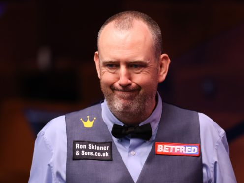 Snooker's world governing body will not ban Mark Williams' controversial break-off (George Wood/PA)