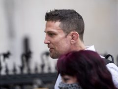 Former cage fighter Alex Reid arrives at the Royal Courts of Justice, London, where he has been jailed for eight weeks for contempt of court after he lied in a witness statement for a compensation claim following a car crash. Picture date: Wednesday April 21, 2021.