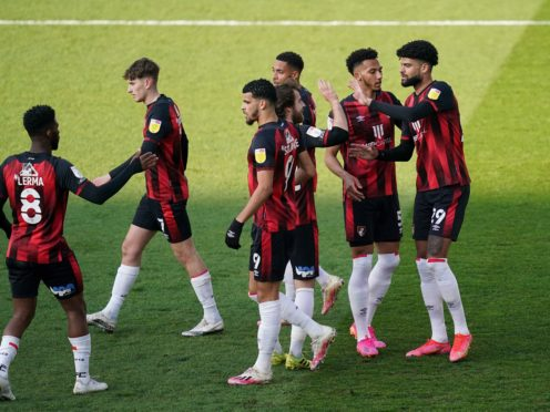 Bournemouth eased to victory against Millwall (John Walton/PA)