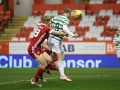 Leigh Griffiths equalised for Celtic (Jane Barlow/PA)