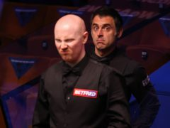 Anthony McGill missed out on a Crucible maximum against Ronnie O'Sullivan (George Wood/PA)