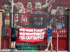 Liverpool have agreed to open discussions with fans in the wake of the backlash from the failed Super League (Martin Rickett/PA)