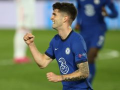 Christian Pulisic opened the scoring for Chelsea (Isabel Infantes/PA)