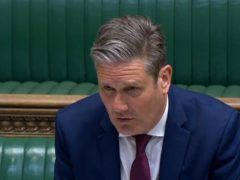 Labour leader Keir Starmer (House of Commons/PA)