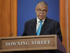 Deputy chief medical officer for England Professor Jonathan Van-Tam speaking during a media briefing in Downing Street (Kirsty Wigglesworth/PA)