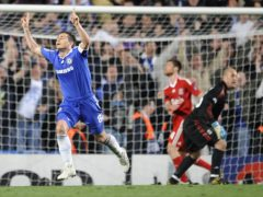 Frank Lampard's second goal of the game sealed Chelsea's 7-5 aggregate win (Rebecca Naden/PA)