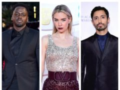 Daniel Kaluuya, Vanessa Kirby and Riz Ahmed (PA)