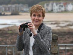 SNP leader Nicola Sturgeon (Andrew Milligan/PA)