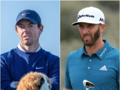 Rory McIlroy and Dustin Johnson will be hoping to find firm as the chase Masters success (Kenny Smith/Richard Sellers/PA)