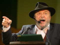 George Galloway said All for Unity would take legal action against broadcaster STV after it excluded the party from an election debate (Daniel Leal-Olivas/PA)