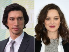Adam Driver and Marion Cotillard (David Parry/Ian West/PA)
