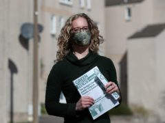 Green Party co-leader Lorna Slater spoke about plans to build a Centre for Peace in Scotland (Andrew Milligan/PA)