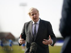 Boris Johnson has strongly denied saying he was prepared to let 'bodies pile high' rather than order another coronavirus lockdown (Ian Forsyth/PA)