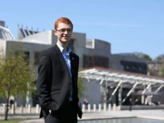 Ross Greer of the Greens said Scotland does not need to wait for independence to play a larger part in global affairs (Andrew Milligan/PA)