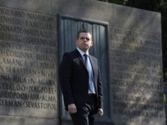 Tory leader Douglas Ross said measures to help veterans would make Scotland a 'country fit for heroes' (Andrew Milligan/PA)